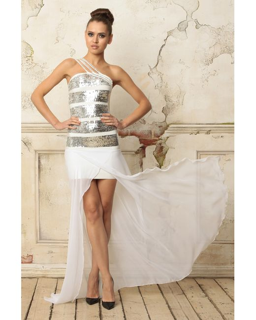 Платье Tutto Bene                                                                                                              белый цвет