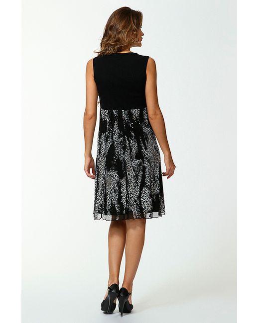 Платье Evalinka                                                                                                              чёрный цвет