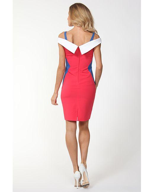 Платье Disetta                                                                                                              красный цвет