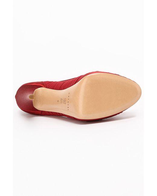 Туфли Casadei                                                                                                              красный цвет