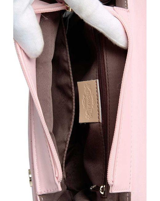 Клатч HOW.R.U                                                                                                              розовый цвет