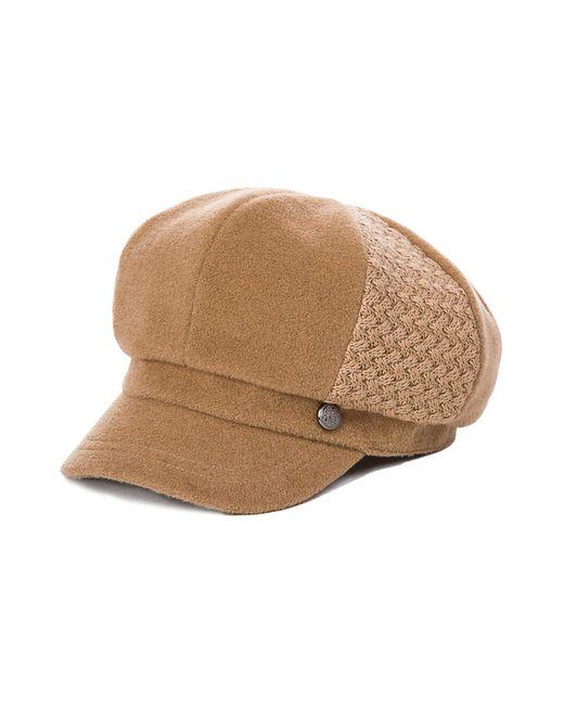 Кепка HATTERS'HUB                                                                                                              коричневый цвет