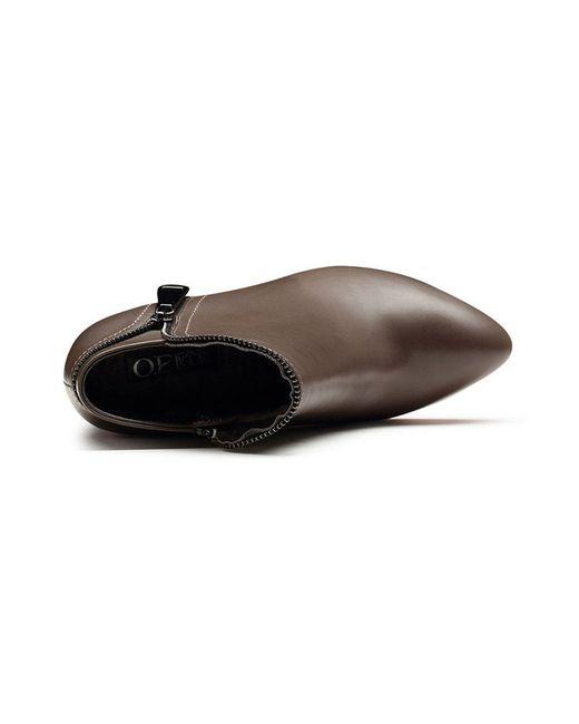 Ботильоны O.E                                                                                                              коричневый цвет