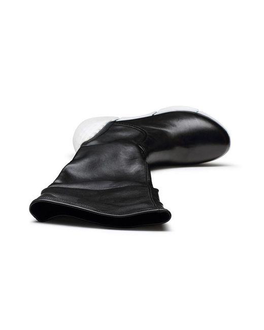 Сапоги O.E                                                                                                              чёрный цвет