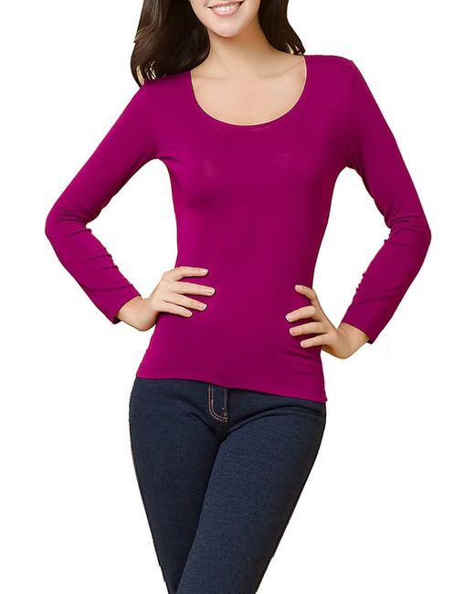 Лонгслив I'd                                                                                                              фиолетовый цвет