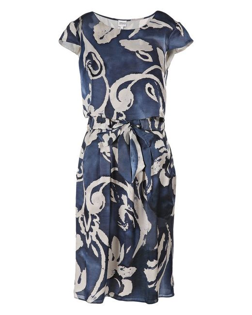 Платье Armani Collezioni                                                                                                              синий цвет