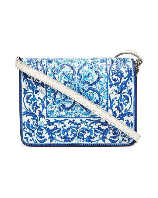 Сумка Dolcegabbana Dolce & Gabbana                                                                                                              синий цвет