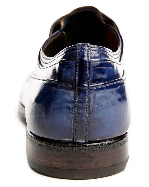 Туфли Premiata                                                                                                              синий цвет