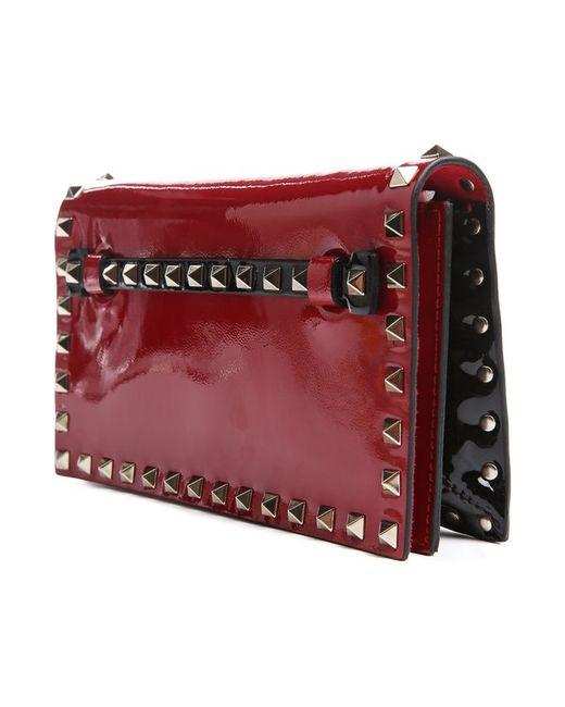 Клатч Valentino                                                                                                              красный цвет