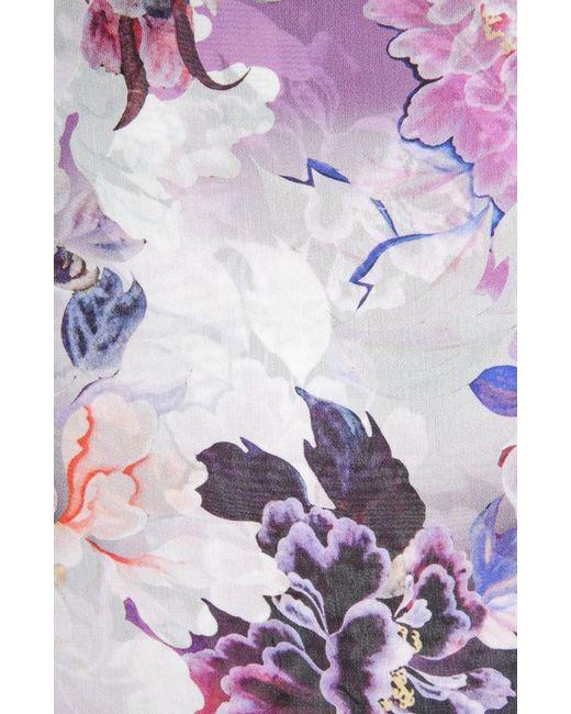 Платок Roberto Cavalli                                                                                                              фиолетовый цвет