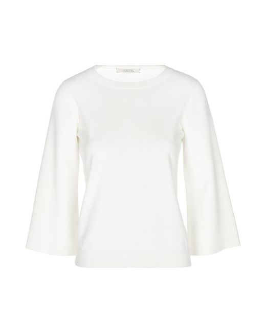 Вязаный Пуловер Schumacher                                                                                                              белый цвет