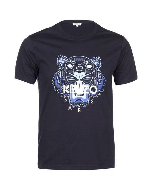 Футболка Джерси Kenzo                                                                                                              синий цвет