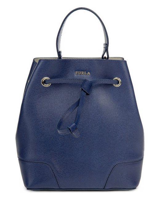 Сумка С Косметичкой Furla                                                                                                              синий цвет