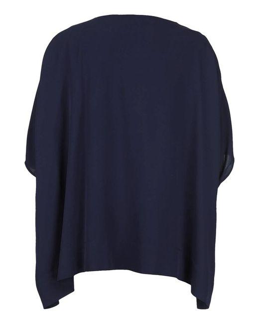 Топ Diane Von Furstenberg                                                                                                              синий цвет