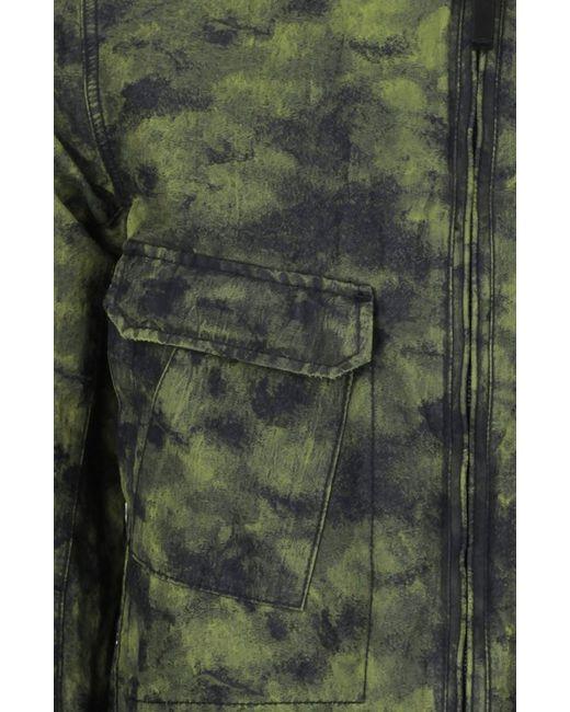 Куртка Stone Island                                                                                                              зелёный цвет