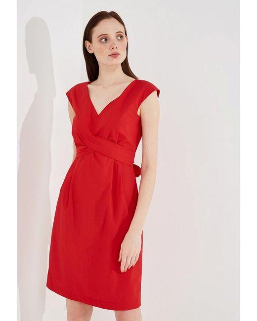 596cf4da109 Женское Красное Платье Weekend Max Mara we017ewadsk8