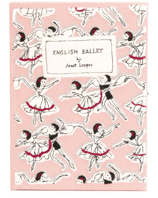 Клатч English Ballet Olympia Le-Tan                                                                                                              розовый цвет