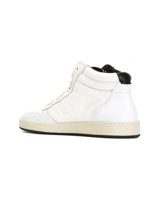 Кроссовки На Шнуровке Philippe Model                                                                                                              белый цвет