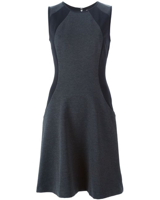 Платье Без Рукавов С Контрастными Вставками Michael Michael Kors                                                                                                              серый цвет