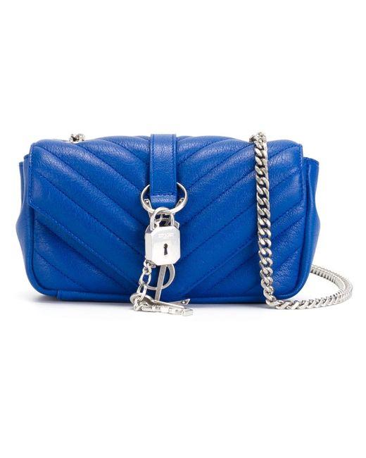 Маленькая Сумка Через Плечо Monogram Saint Laurent                                                                                                              синий цвет