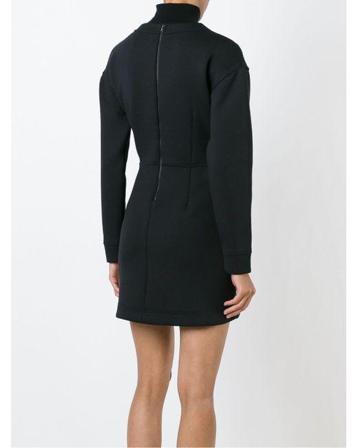 Платье-Толстовка DKNY                                                                                                              чёрный цвет