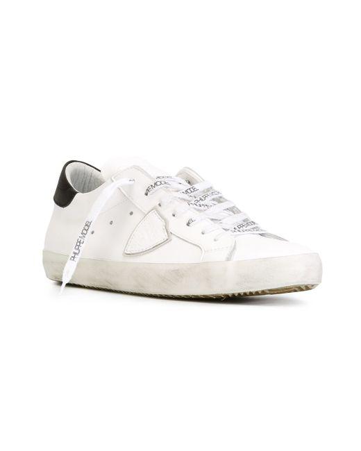 Кроссовки Classic Philippe Model                                                                                                              белый цвет