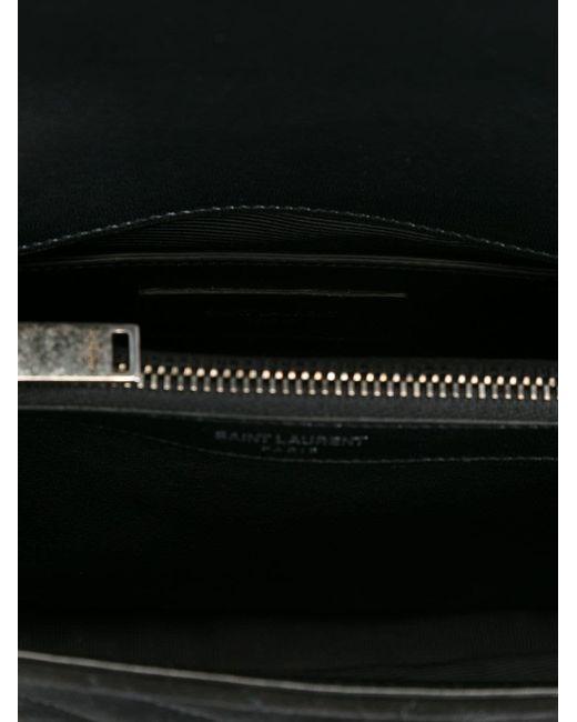 Средняя Сумка На Плечо Monogram Saint Laurent                                                                                                              чёрный цвет
