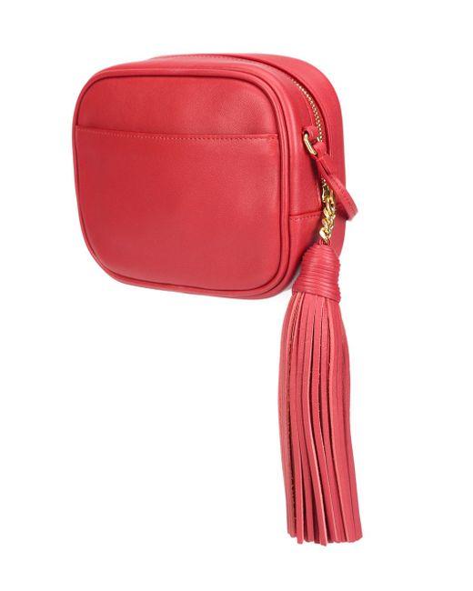 Сумка Через Плечо Monogram Blogger Saint Laurent                                                                                                              красный цвет