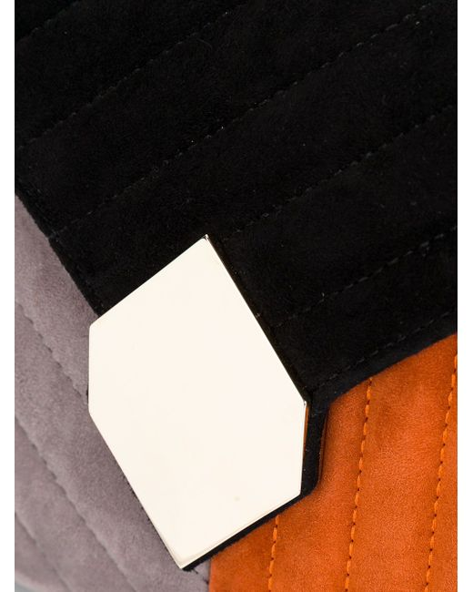 Стеганый Клатч Pierre Hardy                                                                                                              чёрный цвет
