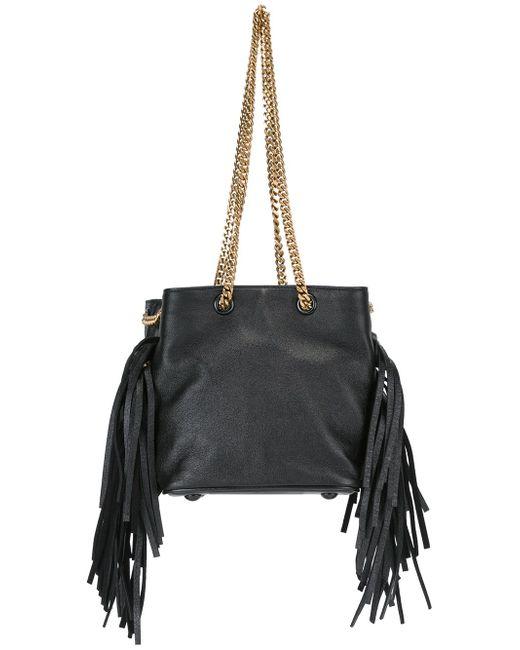 Маленькая Сумка-Мешок Emmanuelle Saint Laurent                                                                                                              чёрный цвет