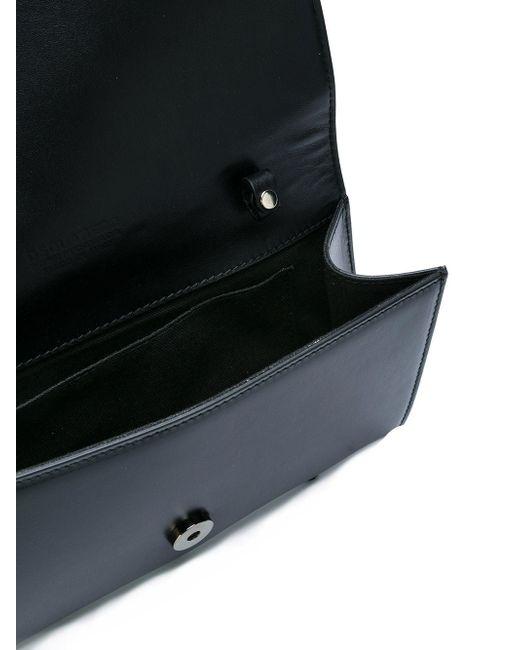Клатч С Заклепками Dsquared2                                                                                                              чёрный цвет