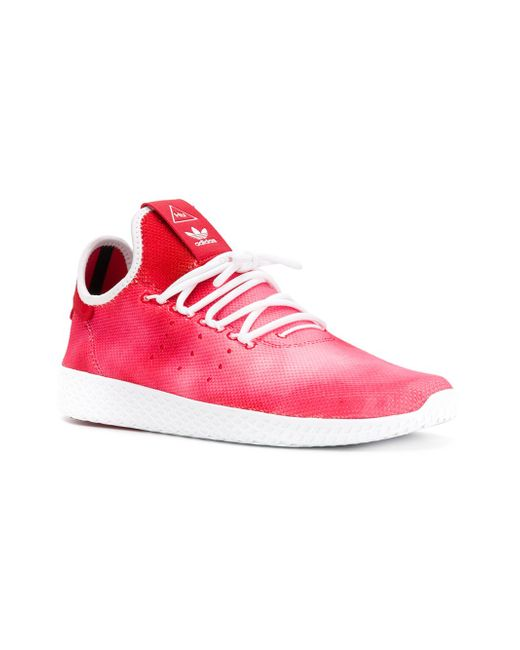 eeb0dffb26ffdd ... Кроссовки Hu Holi Stan Smith Adidas Originals by Pharrell Williams  розовый ...