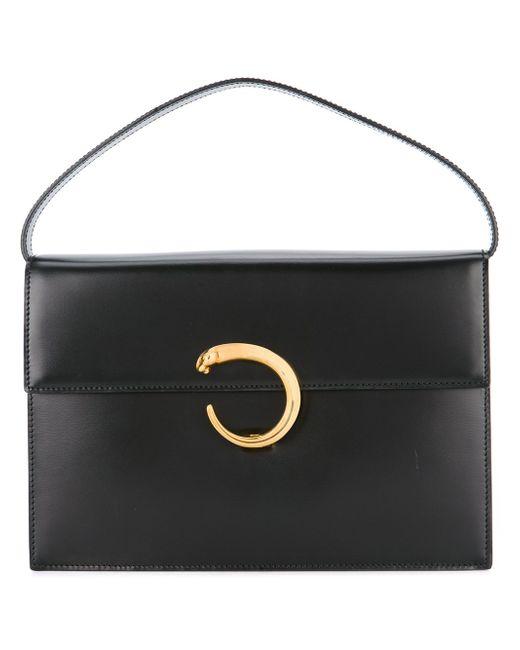 3f667967c190 Женская Чёрная Сумка-Тоут С Логотипом Cartier 12903689