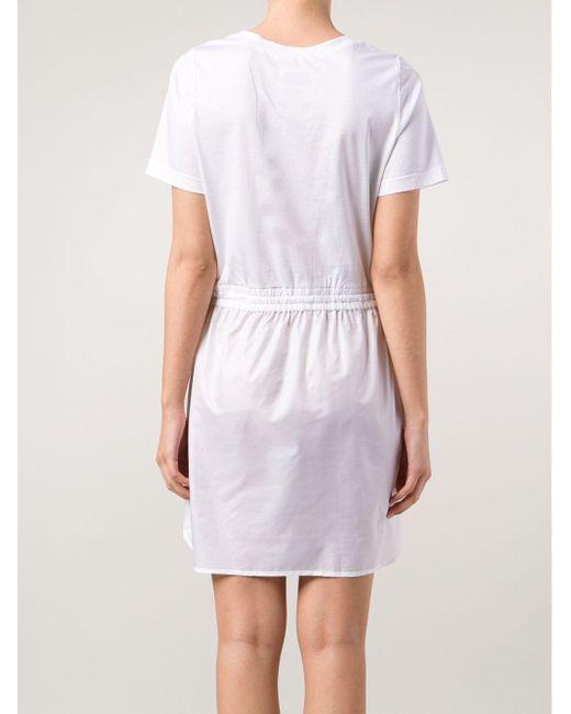 Платье На Резинке Muveil                                                                                                              белый цвет