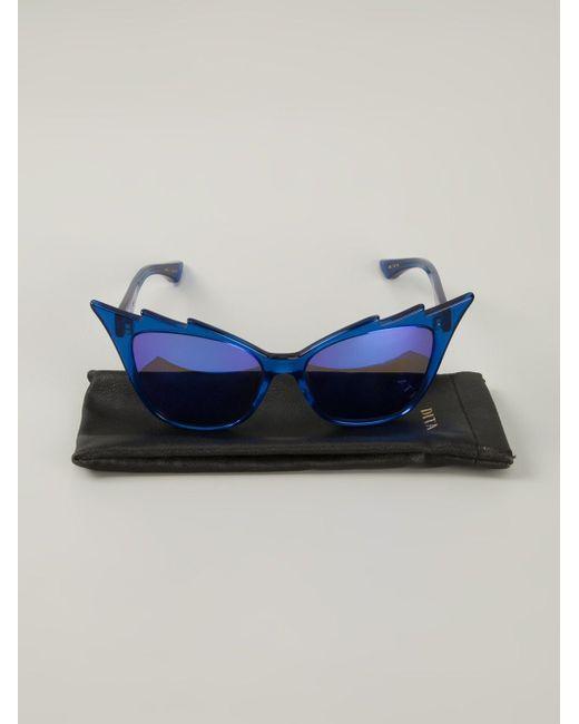 Солнцезащитные Очки Hurricane DITA Eyewear                                                                                                              синий цвет