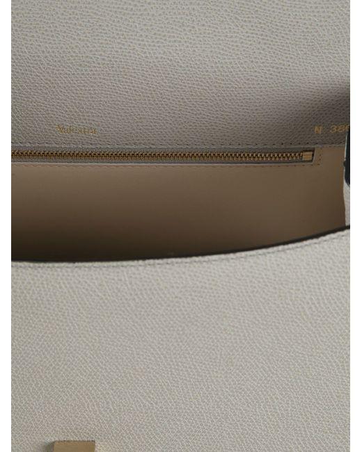 Сумка-Тоут С Откидным Клапаном Valextra                                                                                                              серый цвет