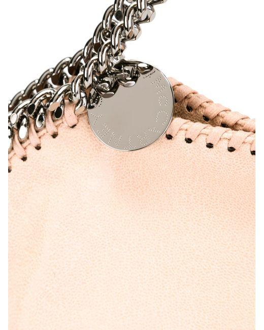 Сумка-Тоут Falabella Stella Mccartney                                                                                                              розовый цвет