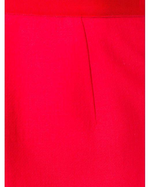 Юбка Средней Длины Giambattista Valli                                                                                                              красный цвет