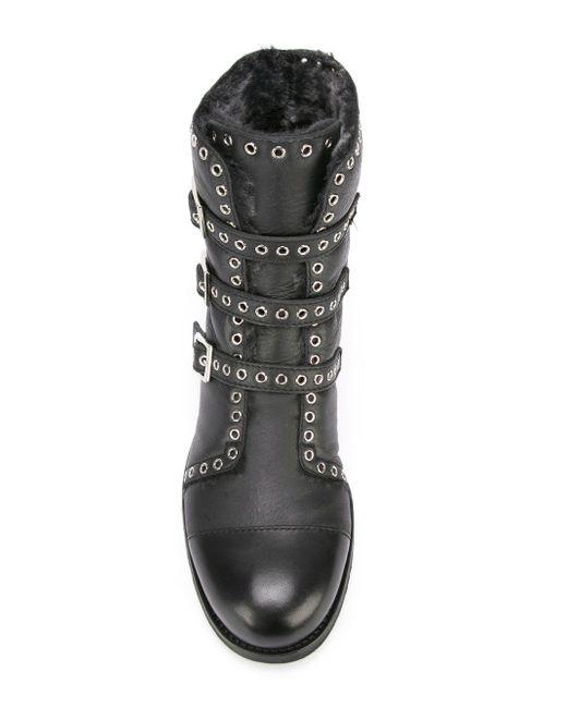 Ботинки Darkle Jimmy Choo                                                                                                              чёрный цвет
