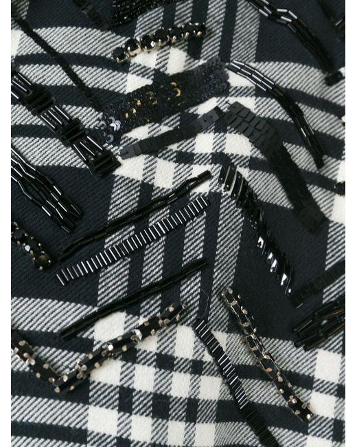 Рубашка В Клетку Laneus                                                                                                              чёрный цвет