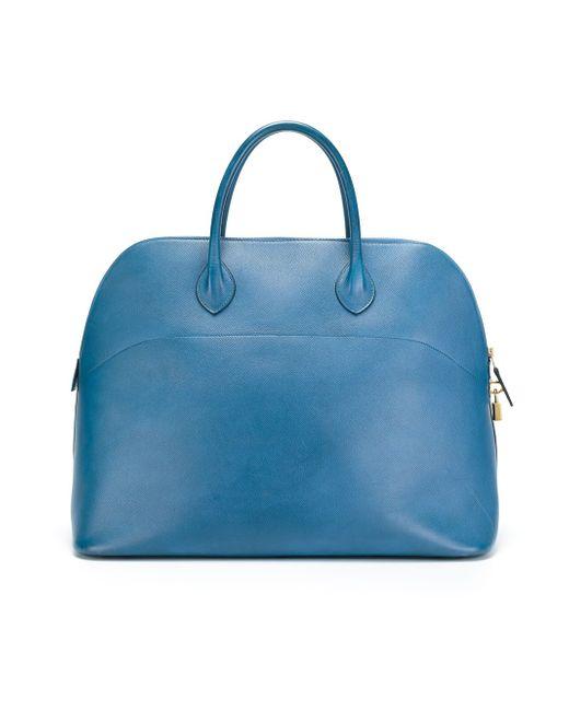 Дорожная Сумка Hermès Vintage                                                                                                              синий цвет