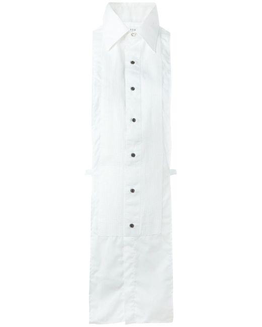 Нагрудный Передник С Воротником Maison Margiela                                                                                                              белый цвет