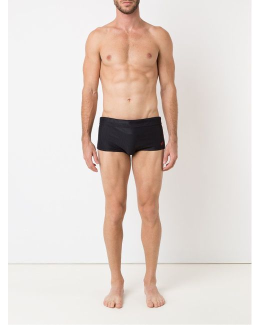 Textured Swimming Trunks BLUE MAN                                                                                                              чёрный цвет