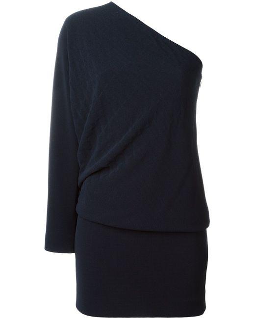 Асимметричное Платье Jay Ahr                                                                                                              синий цвет