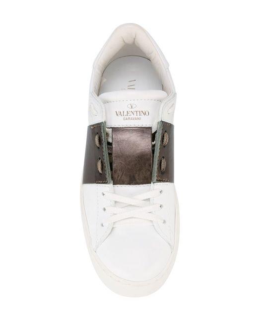Кеды Open Valentino                                                                                                              белый цвет
