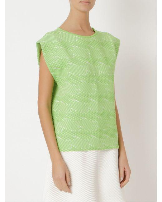 Knit Blouse Gig                                                                                                              зелёный цвет