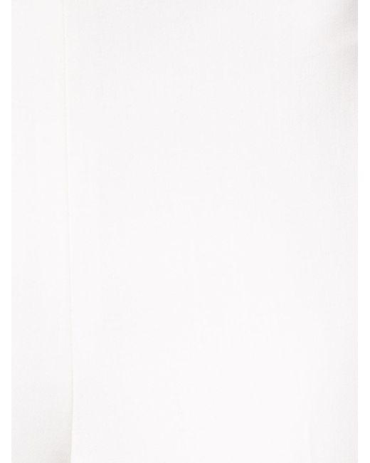 Брюки Прямого Кроя Ralph Lauren Black Label                                                                                                              белый цвет
