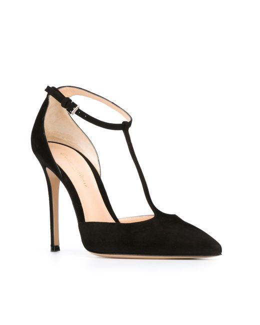 Туфли Мэри Джейн Gianvito Rossi                                                                                                              чёрный цвет