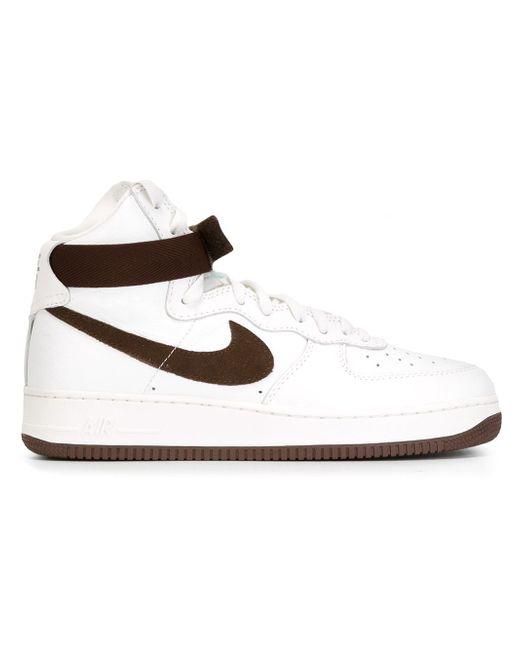 Кроссовки Air Force 1 Nike                                                                                                              белый цвет