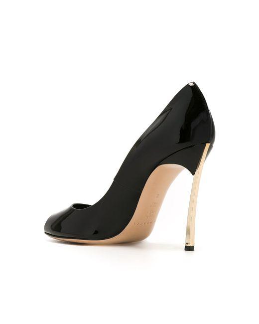 Туфли Blade Casadei                                                                                                              чёрный цвет